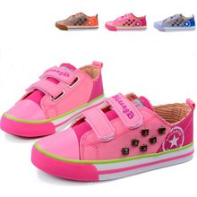 2014 Fashion Kid Canvas Shoes with Riveting (BF-BL06)