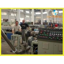 Línea de extrusión de gránulos compuestos de PVC con sistema de pesaje automático