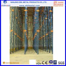 Ce Certificate Metal Drive-in Storage Rack Ebilmetal-Dir
