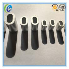 Venta caliente nosotros tipo mangas de la aleación de aluminio del óvalo