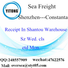 Shenzhen Port LCL Consolidation To Constanta