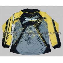 Jersey de moto transpirable