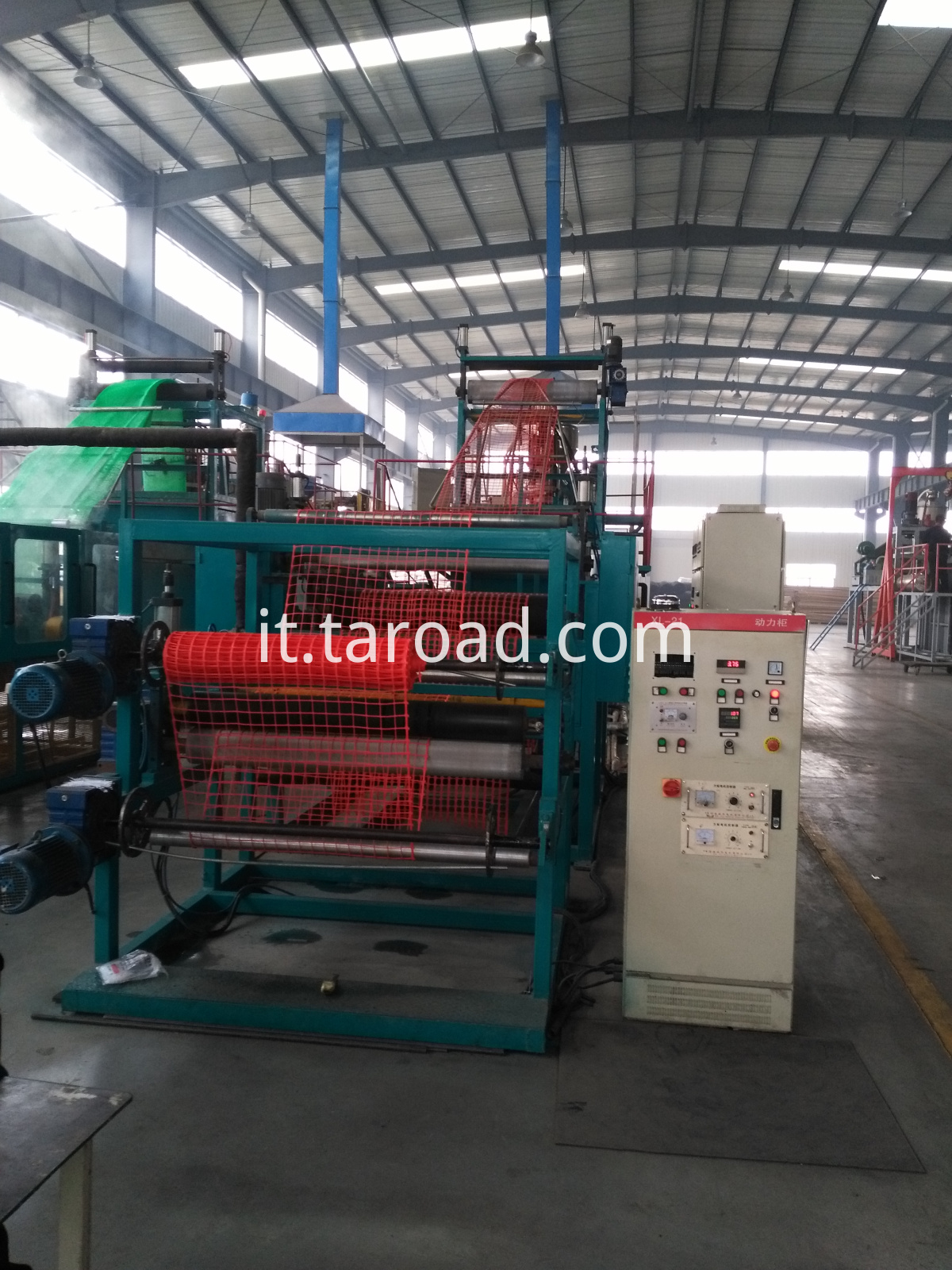 high strength geonet equipment