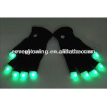 LED-Blitzhandschuhe für Partys