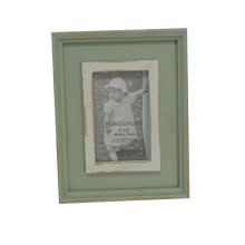 Simple Distressed Wooden Photo Frames for Home Deco