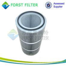 FORST Industrial Pleated Filter Material Komprimierter Aluminium Luftfilter