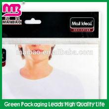 Hochwertige selbstklebende wiederverschließbare Plastiktasche für Hemdsockenverpackung