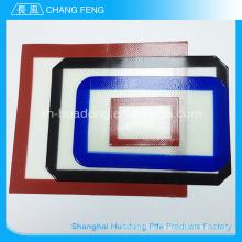 Фабрика пользовательского красочные тепла устойчивостью не липкий силиконовые формы для выпечки мат