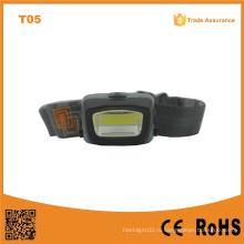 T11 COB светодиодные фары портативные наружного чрезвычайным Кемпинг COB LED 3xaaa Мощный фары