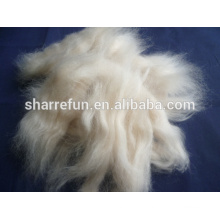 Sheep wool open tops natural white
