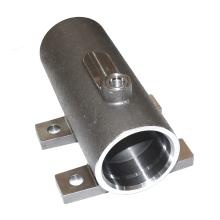 Corpo de cilindros hidráulicos em aço CNC usinado