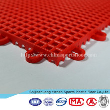 Estera de patinaje sintética protectora temporal china moderna