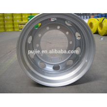 ISO Certified 22.5x9 Truck Steel Rims for Semi Trailer