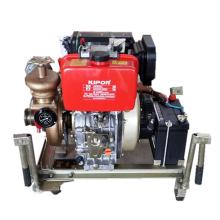 Bomba de incendio diesel manual de emergencia eléctrica serie CWY