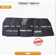 Placa lateral certificada Nij / armadura dura balística