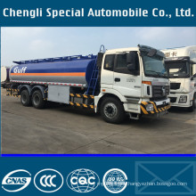 Exported Philipine Foton 6500gallons Oil Transport Truck