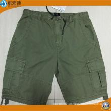 Großhandel Männer Baumwolle Burmuda Cargo Shorts Fashion Baumwolle Kurze Hosen
