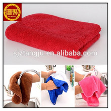 Home design coral fleece micro fiber rags cleaning cloths