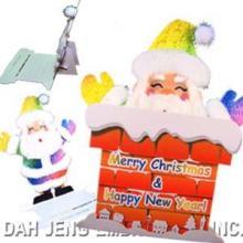 Cartão de Natal bordado