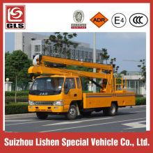 Cheap 14m bucket truck for street lamp maintenance
