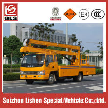 Cheap 14m bucket truck for street lamp maintenance