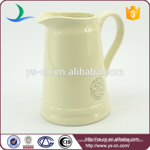 YSj0010-04 Hot sale decal stoneware bathroom jug