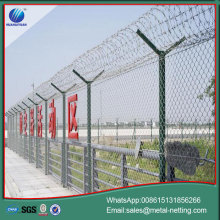 security airport fence anti-climb razor airport fencing