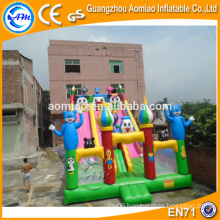 Commercial inflatable slide for sale, giant inflatable slide for amusement park