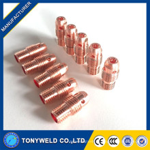 Tubo de soldagem tubo 13n25 / 26/29 tig collet body