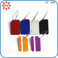 Aluminum OEM Colorful Metal Luggage Tag