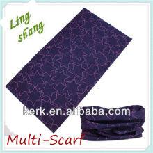 ¡Pañuelo de tubo de cuello de estrella de moda (Multi_scarf)! ¡El precio más bajo, la mejor calidad! ¡El mejor envío exprés con descuento proporciona!