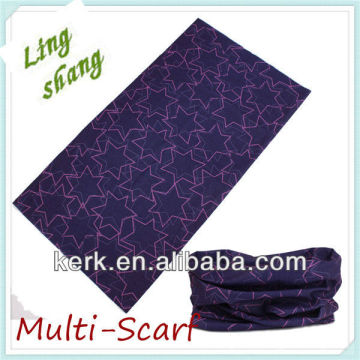 Fashion Star Neck Tube Bandana (Multi_scarf)! Preço mais baixo, melhor qualidade! Melhor desconto em envio expresso!