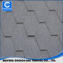 factory hexagonal asphalt shingle for roofing