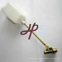 выкованный латунный поплавковый клапан с пластиковым шариком