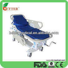 2014 emergency stretcher with PP side rails