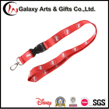 Screen Printed Polyester Lanyard with Detachable Buckle