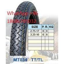 Neumático de la motocicleta 17 2.75 3.25-16