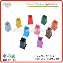 Montessori Toys - Juego de 11 porta-lápices de colores