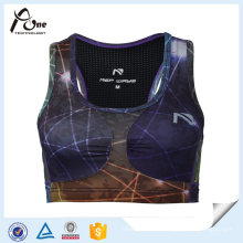 Quick-Drying Sexy New Fashion Sublimation Printed Custom Running Bra