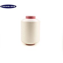100% filé polyester fil fabricant en Chine 2075 4075 20100 2070 blanchiment blanc couleur polyester fils