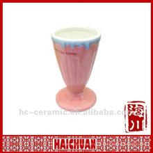 Tasse à la glace en céramique, tasse de glace en céramique