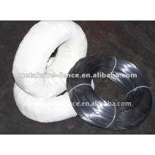 Hilo de acero recubierto negro de la unión (fábrica)