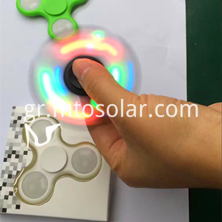 led light hand spinner fidget