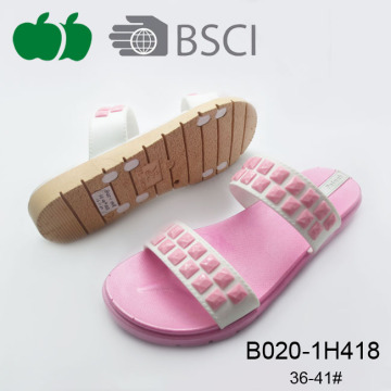 Popular Design Soft Sole Women Simple Pcu Style Slipper
