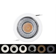 Refletor LED embutido ajustável