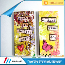 China supplier Wholesales high qulaity Customized folk style 2d fridge magnet for promotional gift