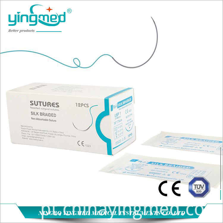 Surgical Silk Braided suture