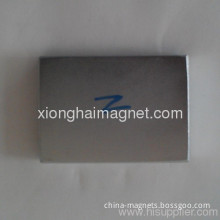 Neodymium Block Magnets China Supplier Nickel-plated Sintered Ndfeb Magnets Block 42x30x6 Rare Earth Grade N38sh