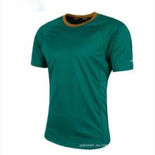 El cuello de equipo de alta calidad se divierte la camiseta