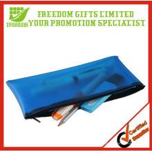 Werbung Top Quallity Logo gedruckt Coole PVC-Bleistift-Tasche